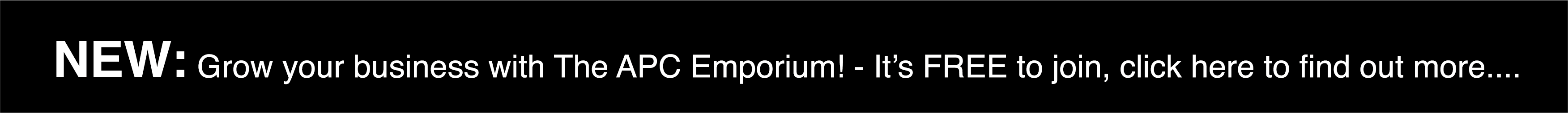 Emporium Promotional Banner